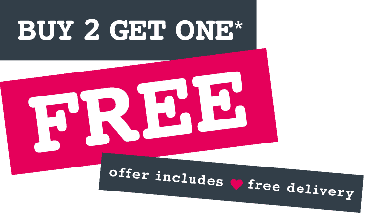 Buy 2 Get One Free